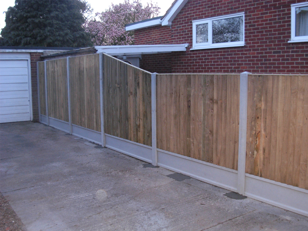 Image of Installation by - Style-Cast Concrete and Fencing